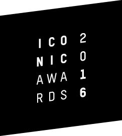 ICONIC AWARDS 2016 logo